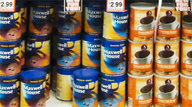 Maxwell House On Shelf